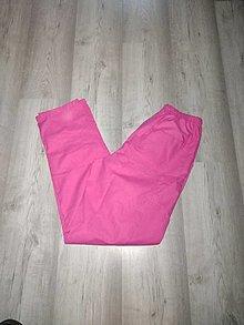 Nohavice - Dámske ružové nohavice zdravotnícke - 13606676_