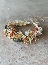 """Ozdoby do vlasov - Kvetinový venček """"lúčenie plné slnka"""" - 13606154_"""