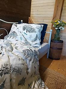 Úžitkový textil - Ľanové posteľné obliečky Awesome - 13604879_