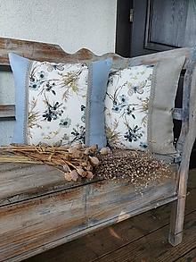 Úžitkový textil - Obliečka na vankúš Fleeting Touch s krajkou - 13605182_