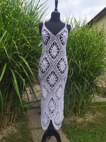 Šaty - Letné háčkované šaty Vian - 13605465_