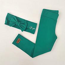 Detské oblečenie - Legíny RIA olive - 13608501_