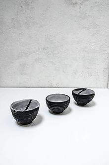 Nádoby - Šálka black MASS - 13608823_
