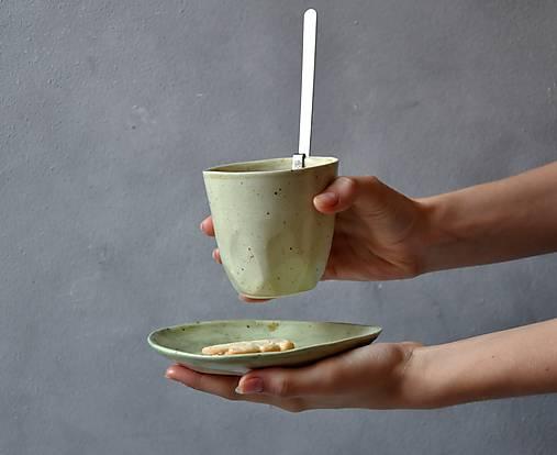 Šálka pohár zelený
