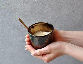 Nádoby - Šálka pohár kovový - 13608026_