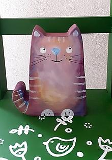 Hračky - Mačička snívajúca :) - 13608585_