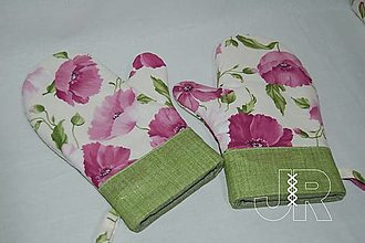 Úžitkový textil - makové - 13607734_