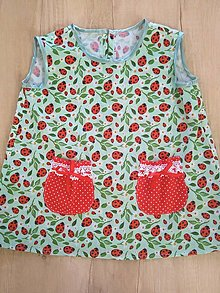 Šaty - Detské šatky. - 13612194_