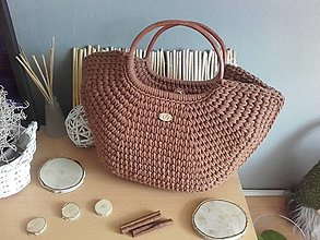 Veľké tašky - SUMMER BAG Cinnamon - 13611390_