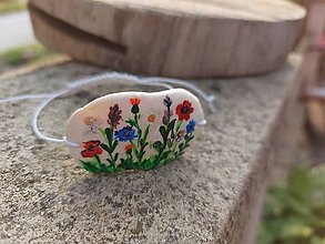 Náramky - Lúka plná kvetov - 13612120_