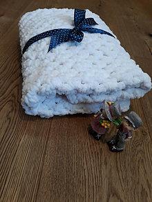 Textil - Háčkovaná dečka nielen do kočíka - 13610645_