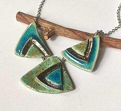 Náhrdelníky - Keramický šperk 3 dielny - 13610289_