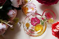 Nádoby - Odkladacia miska Kvety - 13609797_