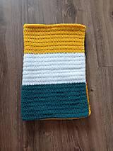 Textil - Háčkovaná deka - 13609805_