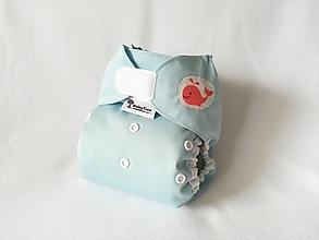 """Detské doplnky - Vrchné PUL plienkové nohavičky """"Veľrybka"""" - 13611061_"""