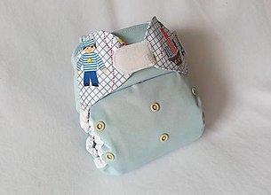 """Detské doplnky - Vrchné PUL plienkové nohavičky """"Prázdniny pri mori"""" - 13611072_"""