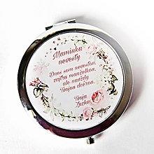 Zrkadielka - zrkadielko Ruže - 13609991_