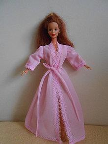 Hračky - Župan pre barbie - 13610477_