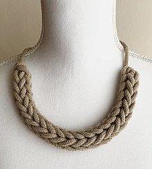 Náhrdelníky - letný náhrdelník SIMPLE - 13612708_