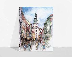 """Grafika - Fine Art Print """"Michalská"""" - 13614316_"""