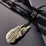 """Náhrdelníky - Drevený náhrdelník """"sunny coast"""" - 13613711_"""