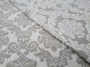 Úžitkový textil - Ľanová prikrývka/ prehoz na posteľ - 13613495_
