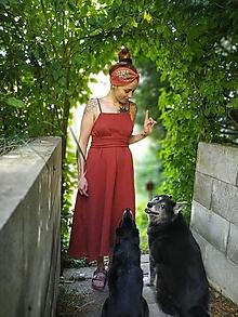 Šaty - Mušelínové šaty Alma - 13613964_