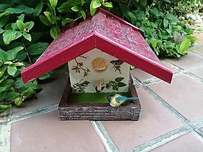 Dekorácie - domček pre vtáčiky - 13613702_