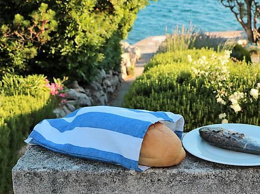 Vrecko na chlieb pásiky hrubšie