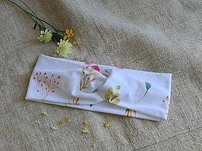 Ozdoby do vlasov - Čelenka ,malé kvety na lúke - 13615416_