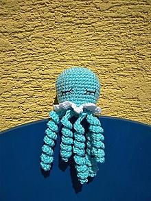 Hračky - Medúzka  (Modrá) - 13616258_