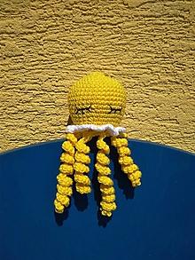 Hračky - Medúzka  (Žltá) - 13616274_