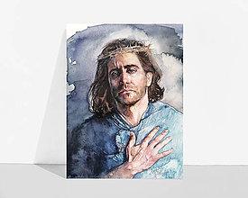 "Obrázky - Fine Art Print ""Pán Ježiš"" - 13614428_"