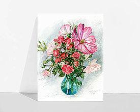 """Obrázky - Fine Art Print """"Kytica"""" - 13614433_"""