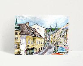 """Obrazy - Fine Art Print """"Banská Štiavnica"""" - 13614435_"""