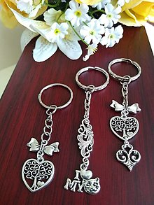 Kľúčenky - Kľúčenky  (srdiečko - strom života) - 13615085_