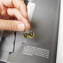 Náušnice - Lúčne kvety strieborné náušnice - 13615633_