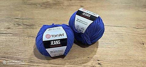 Galantéria - Yarn Art - Jeans (47 modrá) - 13617082_