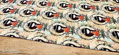 Textil - Teplákovina - cena za 10 centimetrov (Anekke) - 13619687_