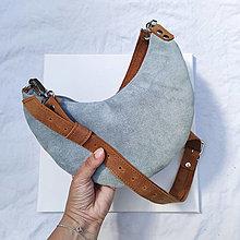 Kabelky - Luna Mini (cloth green-gray) - 13617990_