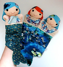 Hračky - Maňuška morská panna - 13618103_