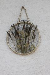 Dekorácie - Farmárska nástenná bylinková dekorácia - 13617357_