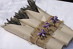 Dekorácie - Jednoduché levanduľové kytičky - 13618435_