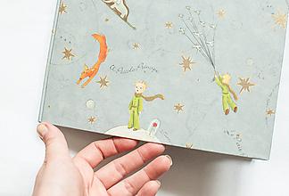 """Papiernictvo - Svadobná kniha hostí """"Chlapec s líškou"""" - 13618347_"""