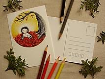 Papiernictvo - pohľadnica: j e s e ň - 13620552_