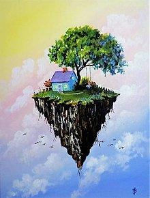 Obrazy - Flying Island - 13621747_