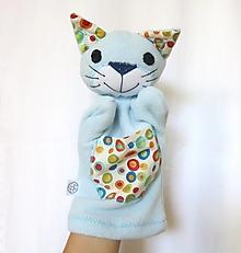 Hračky - Maňuška mačka - Kocúrik od Veselého Kolečkova - 13621333_