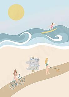 """Grafika - Ilustrácia """"Letné dni"""" - 13621587_"""