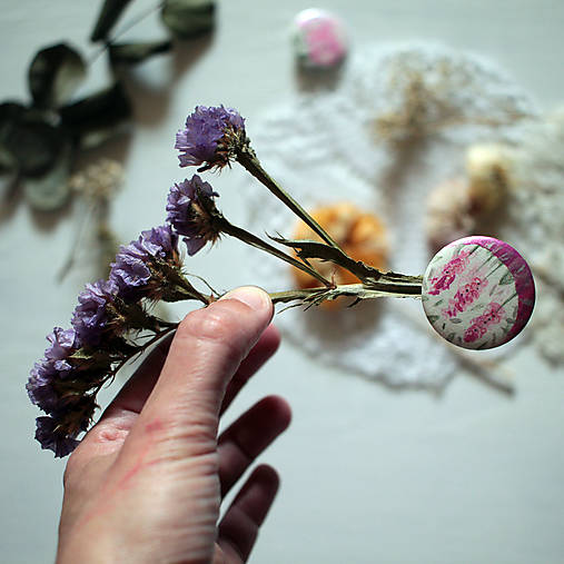 Záhrady VII/ mini butónik