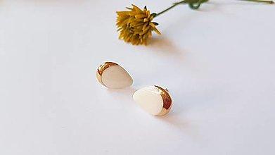 Náušnice - Porcelánové náušničky  - 13622780_